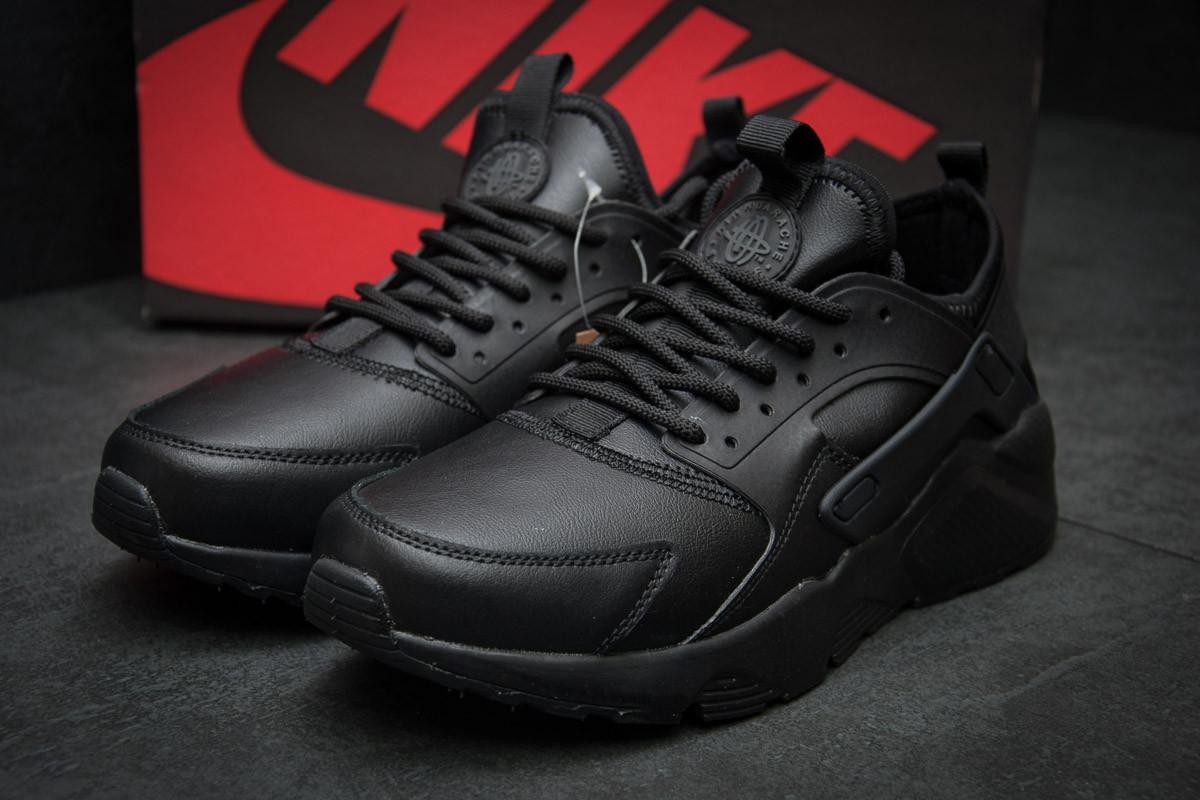 Кроссовки мужские  в стиле Nike Air Huarache, черные (11591) [  42 44  ]
