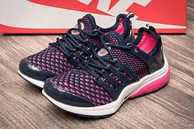 Кроссовки детские  в стиле Nike (детские), фиолетовые (2540-1) [  32 (последняя пара)  ]