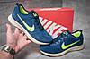 Кроссовки мужские  в стиле Nike  Free Run 4.0 V2, синие (11954) [  42 (последняя пара)  ], фото 2
