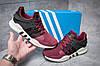 Кроссовки мужские  в стиле Adidas  EQT ADV/91-16, бордовые (11996) [  41 42 44  ], фото 2