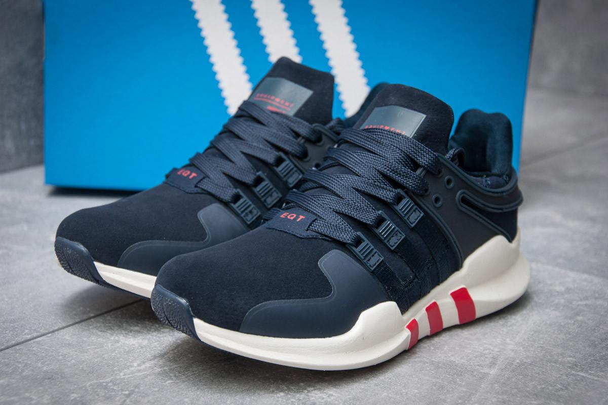 Кроссовки женские  в стиле Adidas  EQT ADV/91-16, темно-синие (12004) [  39 (последняя пара)  ]