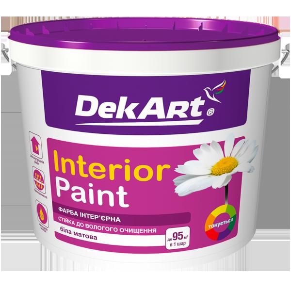 "Фарба інтер'єрна ""Interior"" - DekArt (12.6 кг)"