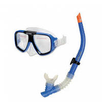 Маска и трубка для плавания Wave Rider Swim Set. Набор от Intex 55948
