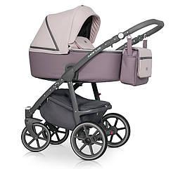 Детская коляска универсальная 2 в 1 Riko Marla 04 Dirty pink (Рико Марла, Польша)