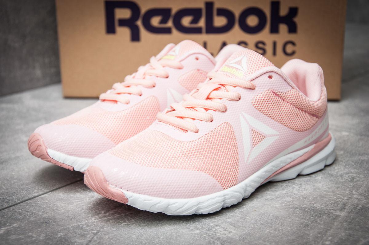Кроссовки женские  в стиле Reebok  Harmony Racer, розовые (12121) [  39 (последняя пара)  ]