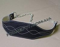 Пояс для отягощений с цепью (кожа кирза), фото 1