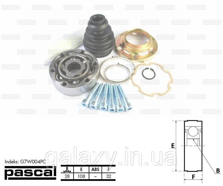 Шрус (граната) внутренний VW T4 1994 - 04.2003 Z=28