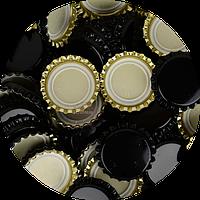Пивная пробка, черная (EU), 100шт., фото 1