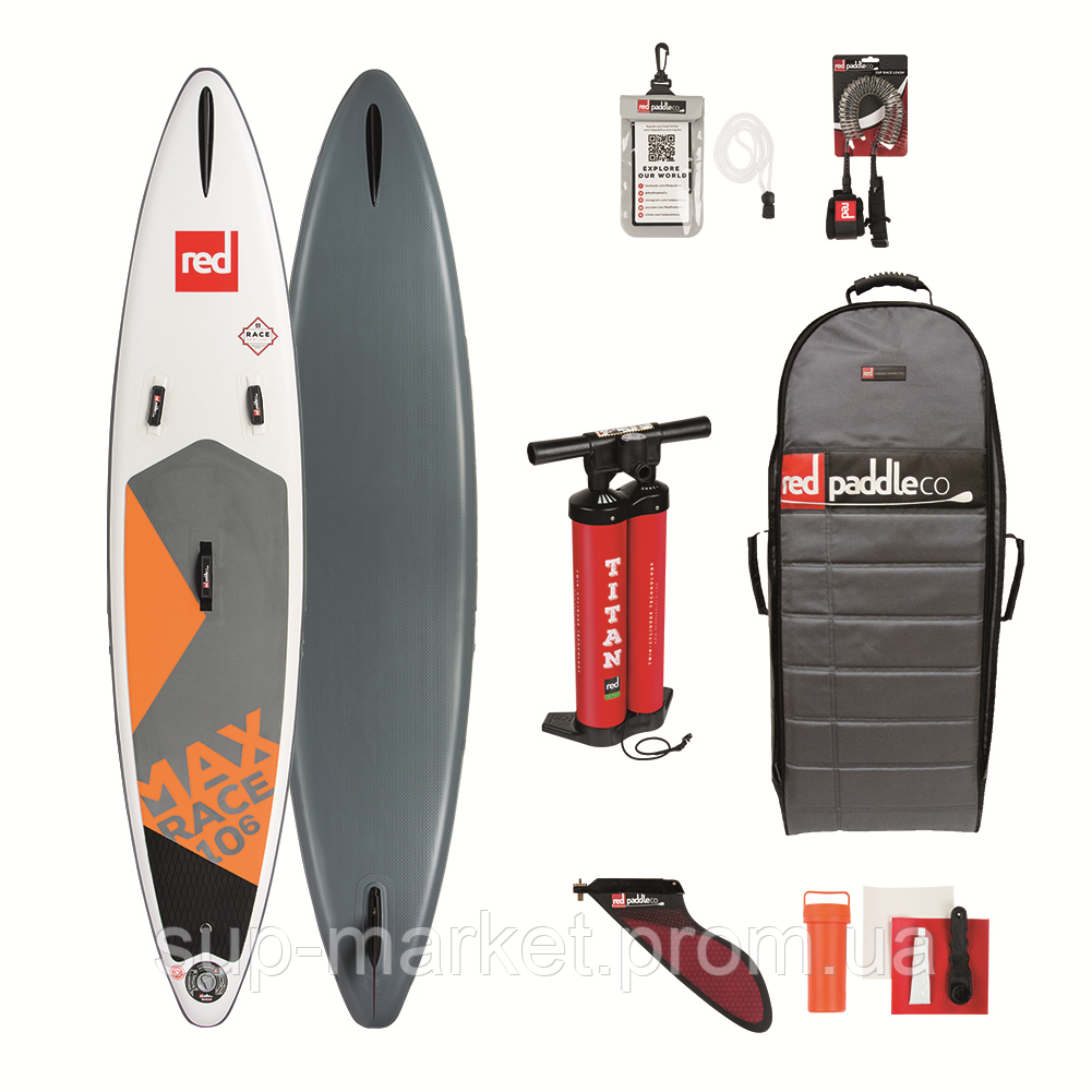 "SUP доска Red Paddle Co Max Race 10'6"" x 26"" (kids), 2019"