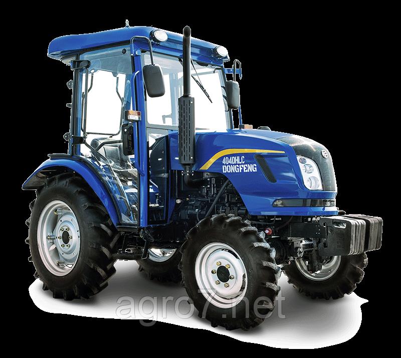 Трактор с доставкой DONGFENG DF404DHLC(4цил, 40л.с. гур)