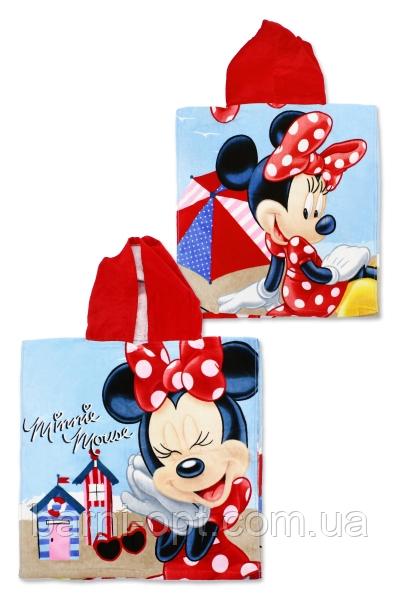 Полотенце пончо детские оптом 50*110 , Disney