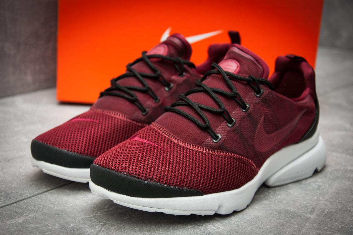 Кроссовки мужские  в стиле Nike  Air Presto, бордовые (12401) [  43 (последняя пара)  ]