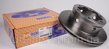 Диск тормозной (задний) MB Sprinter 408-416 96- (285x22)  AUTOTECHTEILE 4357