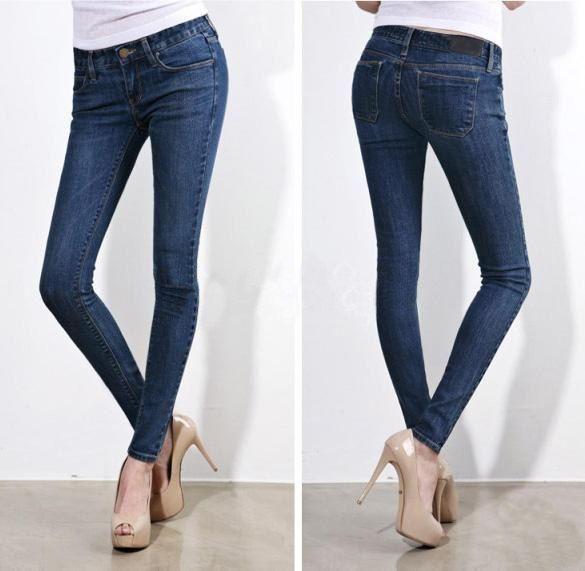 d8666c27b3a Женские узкие джинсы