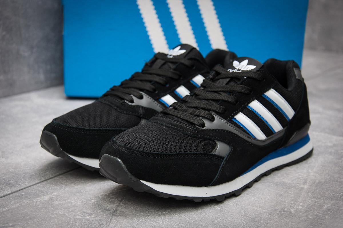 Кроссовки мужские  в стиле Adidas  City, черные (12424) [  41 (последняя пара)  ]