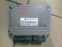 ЕБУ Електронний блок управління двигуна VW CADDY Кадді