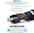 Автомобильное зарядное 2хUSB + тестер напряжения (вольтметр) + выходной ток, фото 6