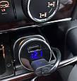 Автомобильное зарядное 2хUSB + тестер напряжения (вольтметр) + выходной ток, фото 8
