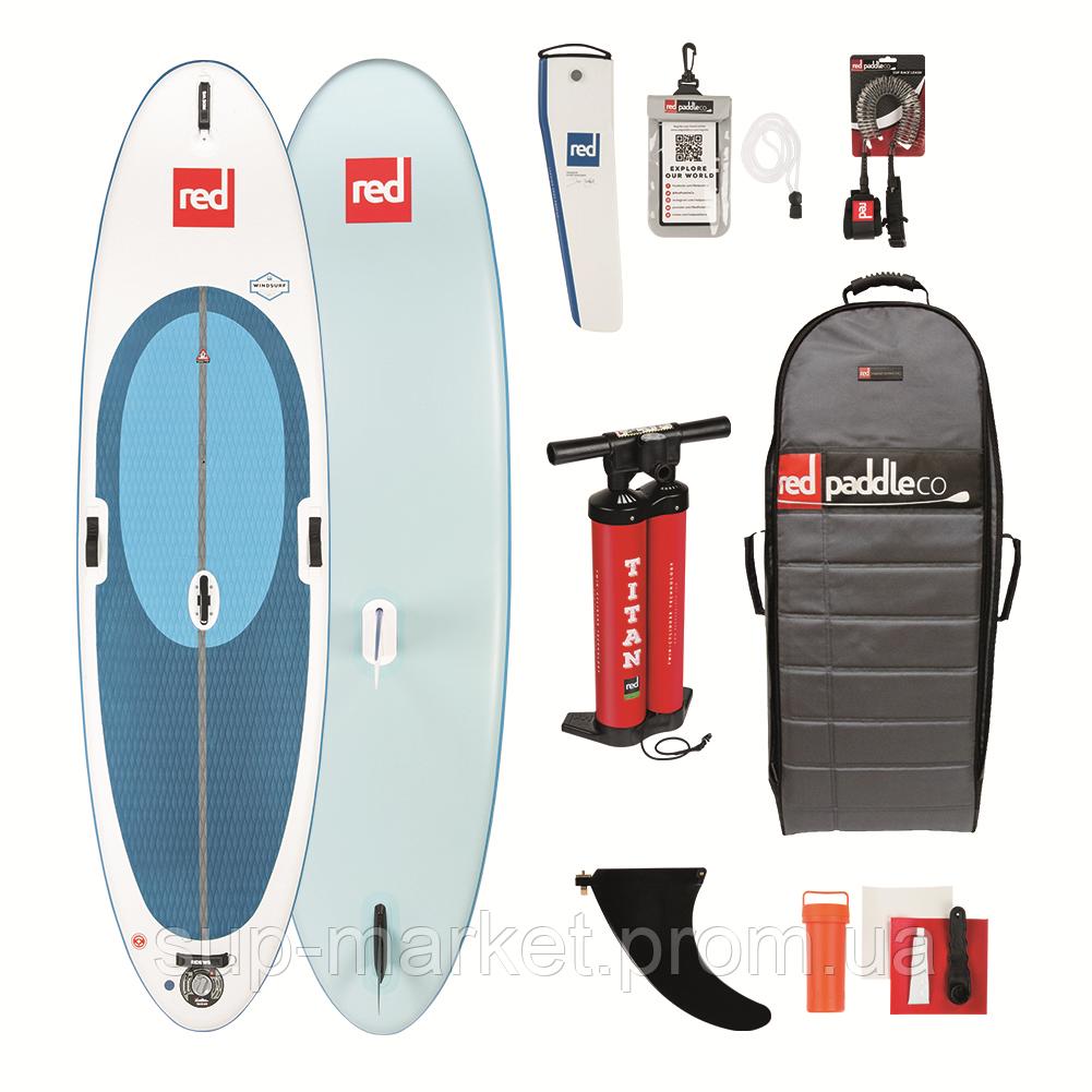 "SUP доска Red Paddle Co Ride 10'7"" x 33"" Windsurf (включая шарнир), 2019"