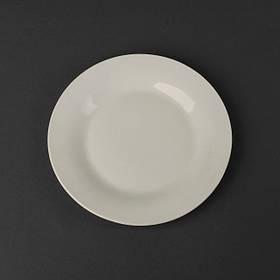 Тарелка обеденная молочный цвет Helios 20,5 см (4412)