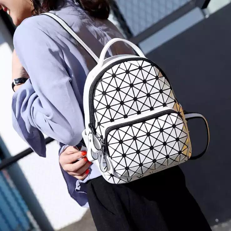 Жіночий рюкзак Бао Бао білий Уцінка