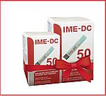 Тест-смужки для глюкометра IME-DC, 100 шт. тест смужки 2 упаковки