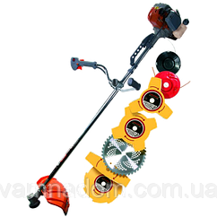 Бензокоса Ижмаш Industrial line GT-4350 (5 ножей+2 лески)