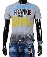 Стильная мужская футболка серая