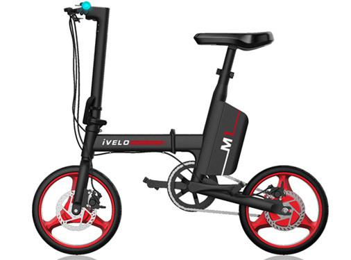 """Електровелосипед Bascom iVELO Electirc M1 14"""""""