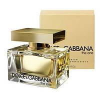 Женская туалетная вода Dolce & Gabbana The One 75 мл