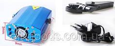 Лазерный диско проектор стробоскоп лазер светомузыка 3 режима, микрофон, регулировки, фото 3