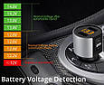 Mini Bluetooth ФМ модулятор / Громкая связь / Вольтметр / Зарядное USB, фото 4