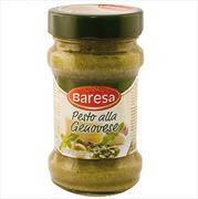 "Соус зелёный ""Pesto genovese"" ""BARESA"" 190g"