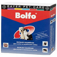 Ошейник для маленьких собак BOLFO от блох и клещей 35см