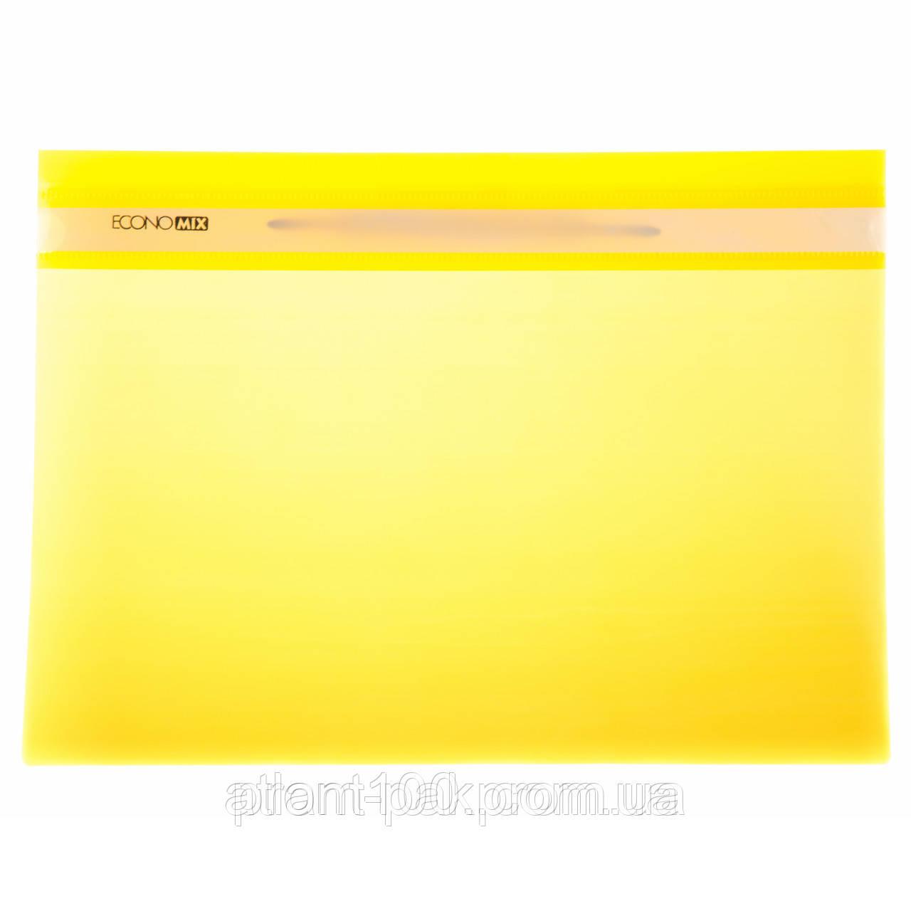 Папки скоросшиватели Economix  31511-05 желтые