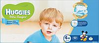 Подгузники Huggies Ultra Comfort 4+ Mega для мальчиков 60 шт