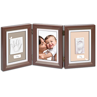 Рамочка Baby Art Double Print Frame Brown & Taupe-Beige