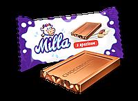"""Конфеты шоколадные Milla мини плитка с арахисом  1,8кг ТМ """"Chocoboom"""""""