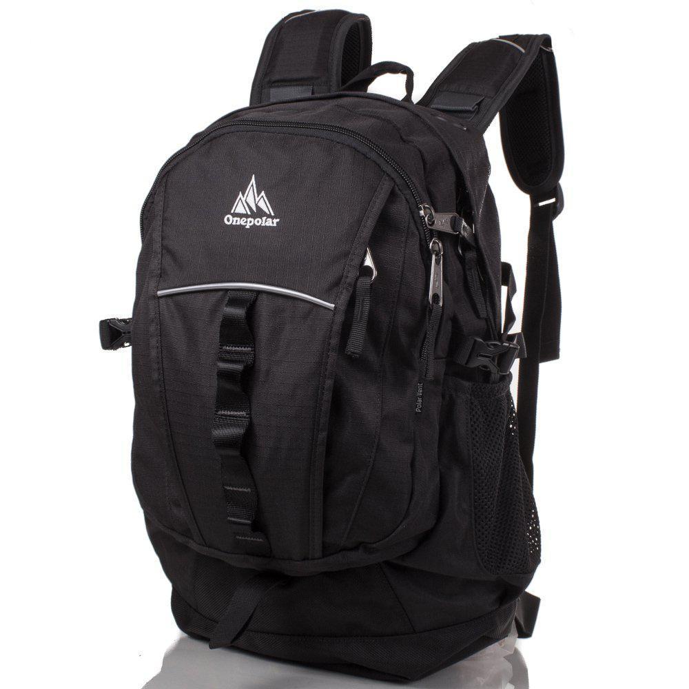 eff95e9b6f24 Мужской спортивный рюкзак Onepolar, цвет черный W1300-black, 25 л