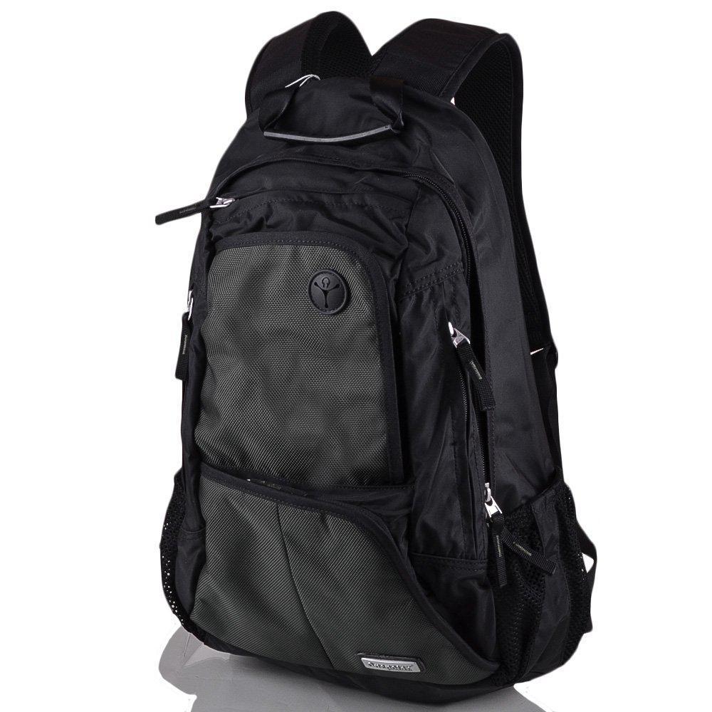 bd7778ab6777 Мужской городской спортивный рюкзак темно зеленого цвета Onepolar W1295- green, 25 л - imida