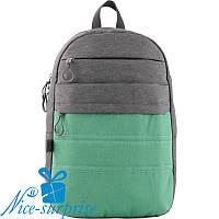 Модный рюкзак для подростка GoPack GO19-118L-3 (9-11 класс), фото 1