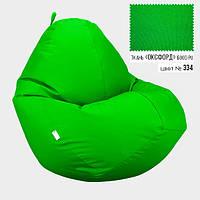 Кресло мешок Овал Оксфорд Стронг 100*140 см Цвет Салатовый