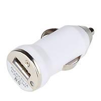 Универсальное USB зарядное в прикуриватель 1000mA