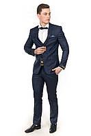 Изумительный мужской костюм-тройка Doni Ricci 190-04