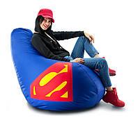 Кресло мешок груша Супермэн 100*140  см