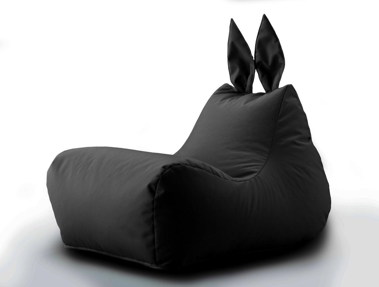 Кресло мешок Зайка цвет Черный 600D PU 70*50*45 см