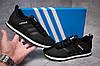 Кроссовки женские  в стиле Adidas Lite, черные (13411) [  39 40  ], фото 2