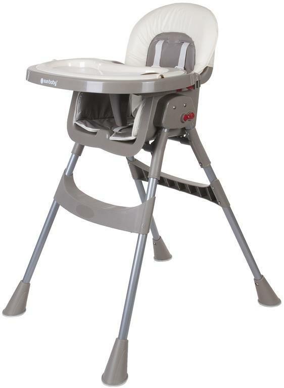 Стульчик для кормления SUN BABY COMFORT BASIC Серый (4001)