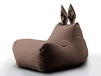 Крісло мішок Зайчик колір Коричневий 600 D PU 70*50*45 см