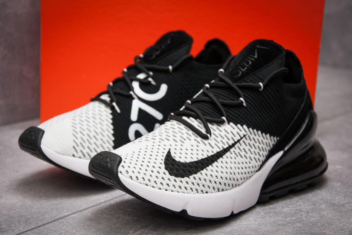 Кроссовки мужские  в стиле Nike Air Max 270, белые (13422) [  40 (последняя пара)  ]